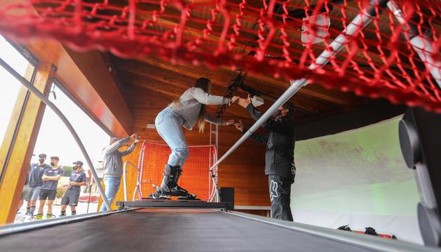Presentació del simulador d'esquí de Vallnord-Pal Arinsal.