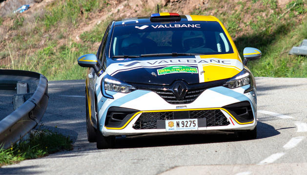 Àlex Español i Marc Que van acabar en segon lloc.