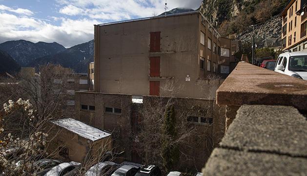 L'antic centre hospitalari de Santa Coloma.