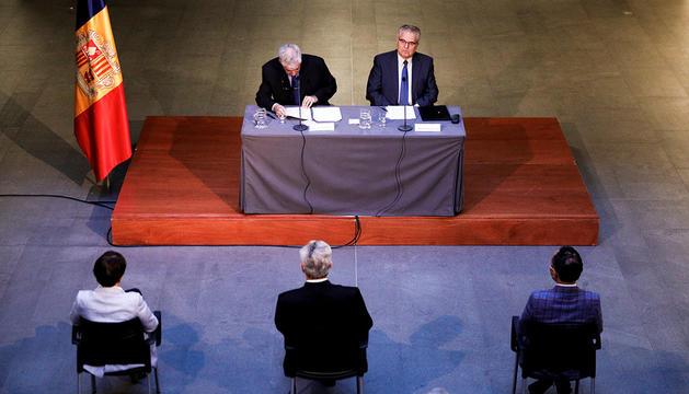 Presentació del llibre al Consell General.