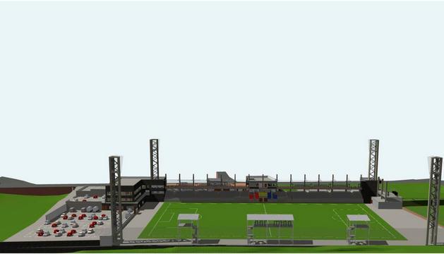 Hi haurà l'estadi, el camp d'entrenament i la seu de la FAF, i el nou Prada de Moles