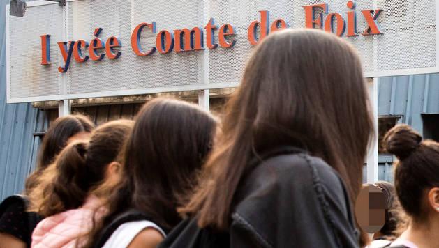 Alumnat del Lycée Comte de Foix.