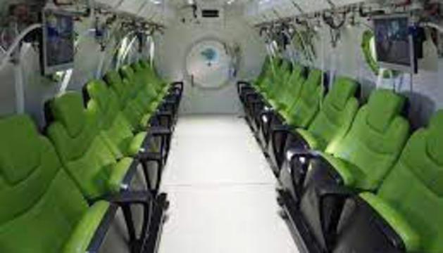 Imatge d'una cambra hiperbàrica.