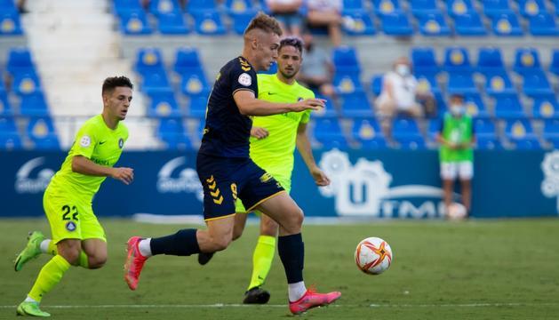 L'FC Andorra ha empatat 1-1 contra l'UCAM.