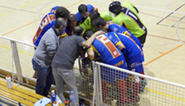 Duel anterior de l'Andorra HC.