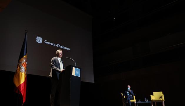 Presentació del projecte de Grifols aquest matí a Ordino