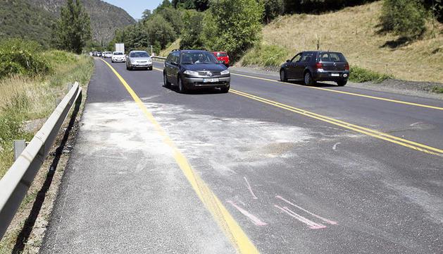 El tram de la C-14 entre Ponts i Bassella és un dels més perillosos de la xarxa viària catalana.