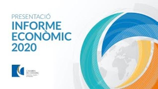 Presentació informe econòmic de la Cambra de Comerç