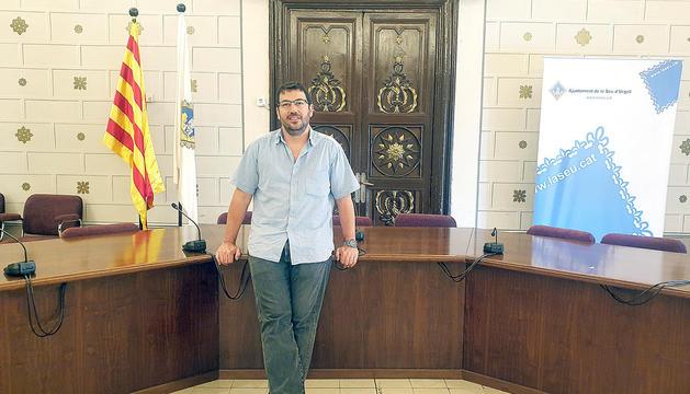 L'alcalde de la Seu d'Urgell, Francesc Viaplana.