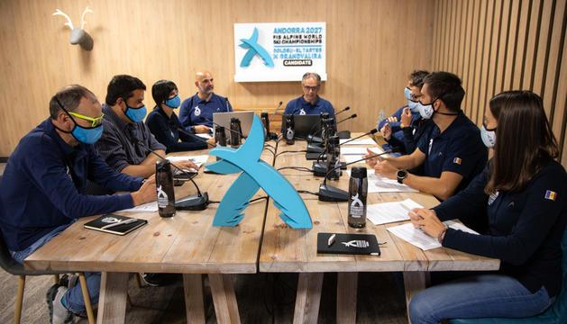 Andorra ha presentat a la FIS el dossier de candidatura.