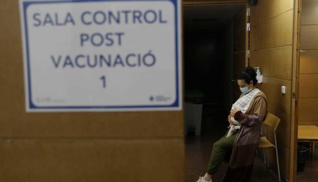 Vacunació a l'Hospital Nostra Senyora de Meritxell