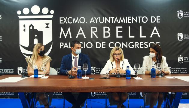 Gallardo a l'acte inaugural de la Design Week Marbella.