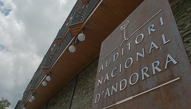 Exterior de l'Auditori Nacional on se celebrarà l'esdeveniment