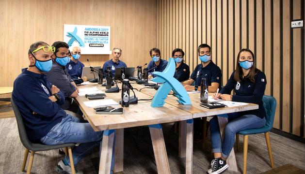 La candidatura andorrana va presentar ahir el projecte davant els responsables de la FIS.