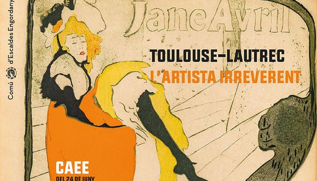 'Tolouse-Lautrec, l'artista irreverent', s'ha exposat aquest estiu al CAEE