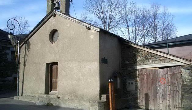 Església de Sant Ermengol de l'Aldosa.