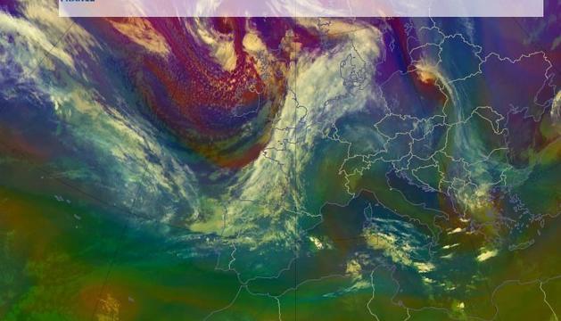 Una massa d'aire fred portarà un canvi de temps a finals de setmana