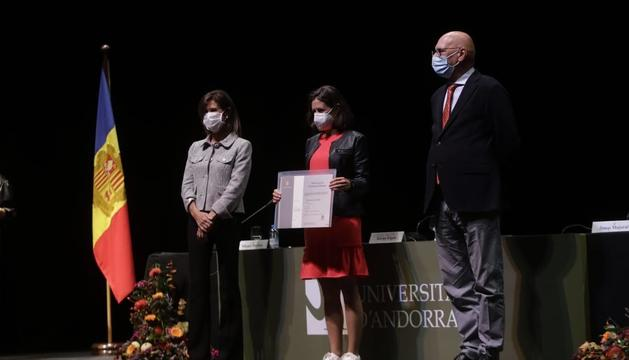 Graduació dels alumnes de la Universitat d'Andorra