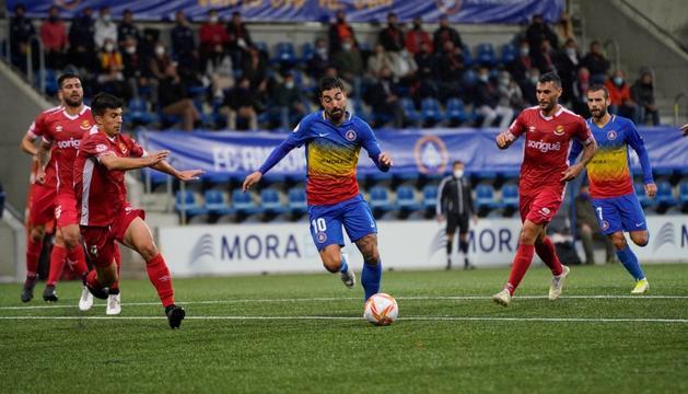 Carlos Martínez, davanter de l'FC Andorra