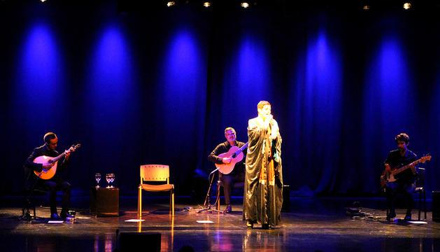Un moment del concert de Fábia Rebordao.