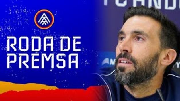 """Eder Sarabia:  """"Hem controlat molt bé el seu potencial ofensiu i hem generat bastantes arribades"""""""