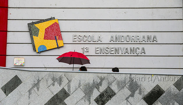 Façana de l'Escola Andorrana de 1ª ensenyança
