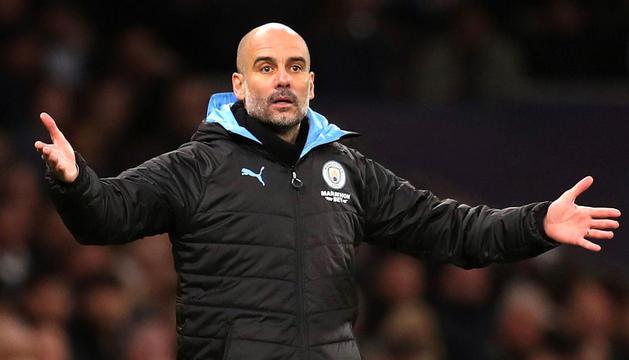 L'entrenador del City, Josep Guardiola.