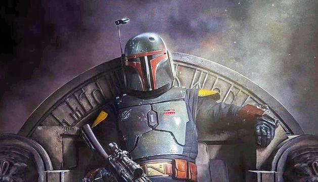 La imatge oficial d''El libro de Boba Fett', la nova sèrie de l'univers 'Star Wars'.