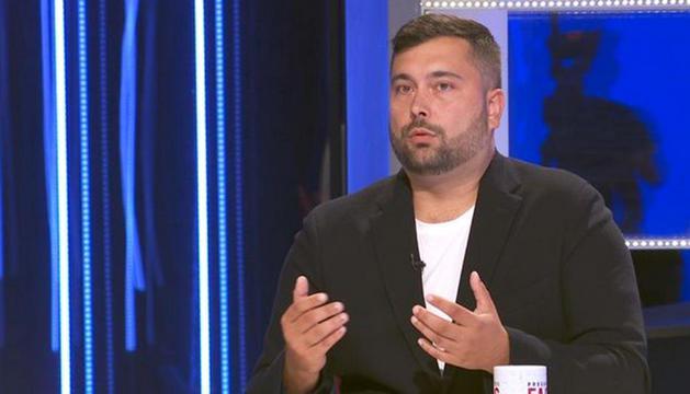 Dmitrenko en l'entrevista a 'Preguntes freqüents' de TV3.