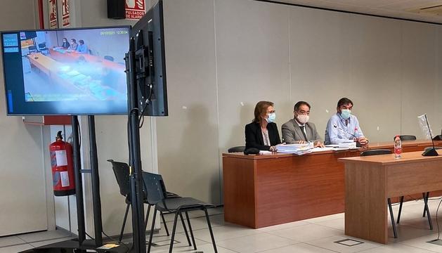 Felipe Espionsa, a la dreta, durant el judici