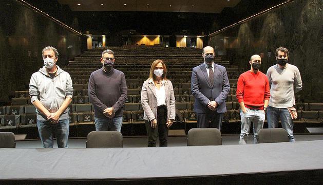 Presentació de la 59a Temporada de Teatre a l'auditori Claror de Sant Julià.