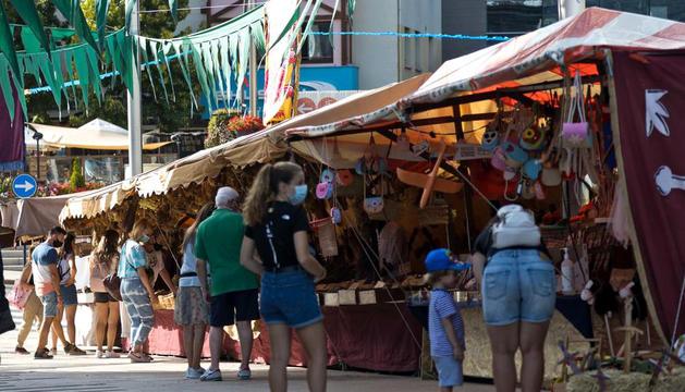 Les Fontetes acull el mercat de tardor d'artesania