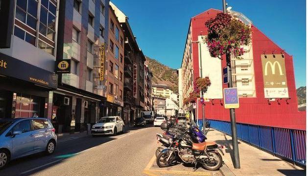 L'avinguda Santa Coloma