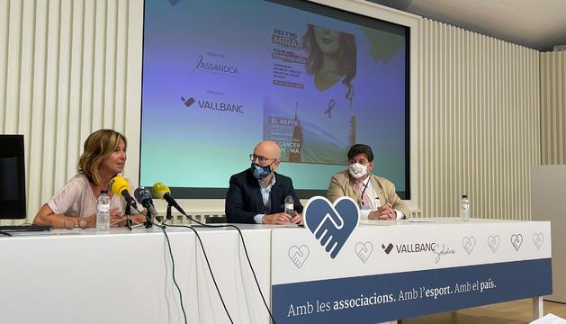 La dietista Marta Pons, en la presentació de la campanya
