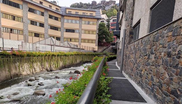 El passeig del riu