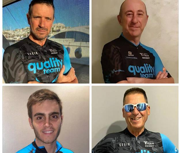 Els corredors dels equips Quality.