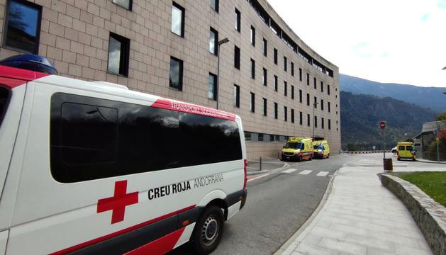 L'hospital de Meritxell.