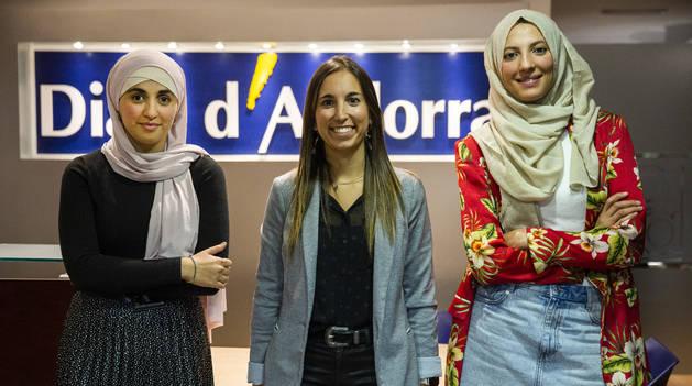 Debat sobre la polèmica del vel amb Salima Raguig i Hayat Agharbi