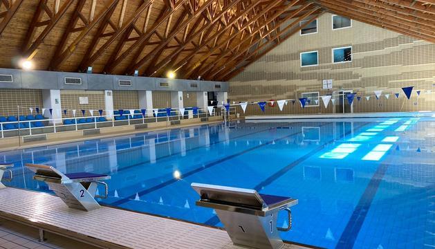 El nou aspecte de la piscina gran d'Encamp
