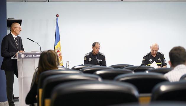 Jaume Bonell, Bruno Lasne i Àlex Gil.