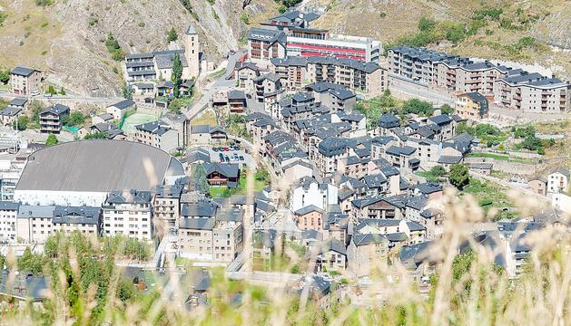 El Forn, una de les zones amb més territori disponible per urbanitzar.