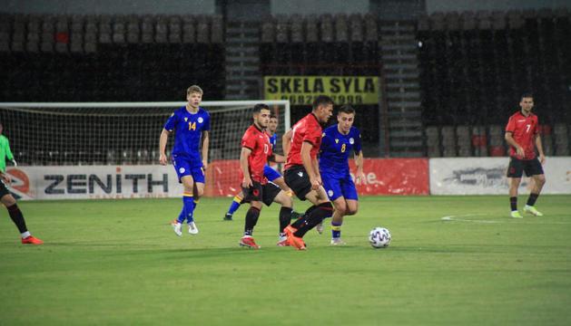 La selecció sub 21 va perdre a Albània.