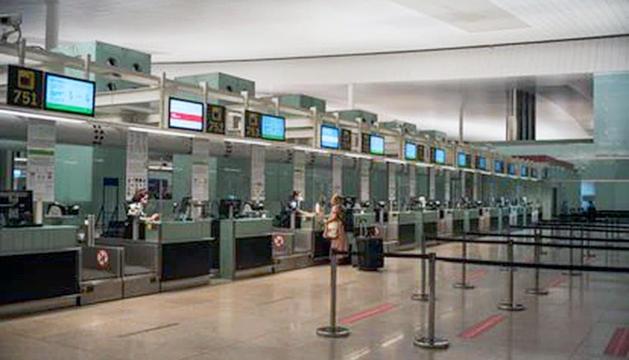 La T-2 de l'aeroport del Prat.