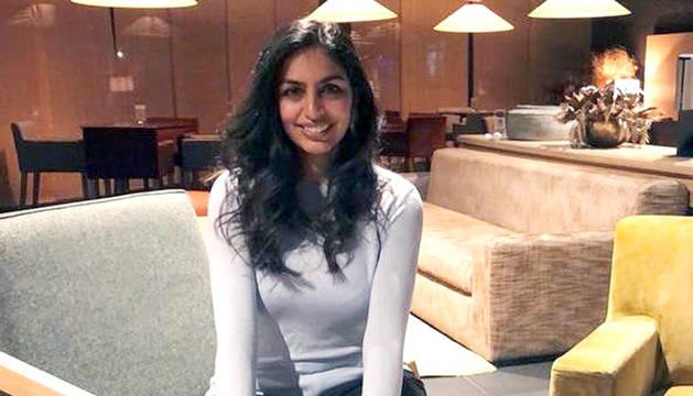La militant liberal Resma Punjabi.