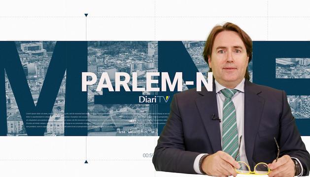 Entrevista al president del grup parlamentari de CC, Carles Naudi