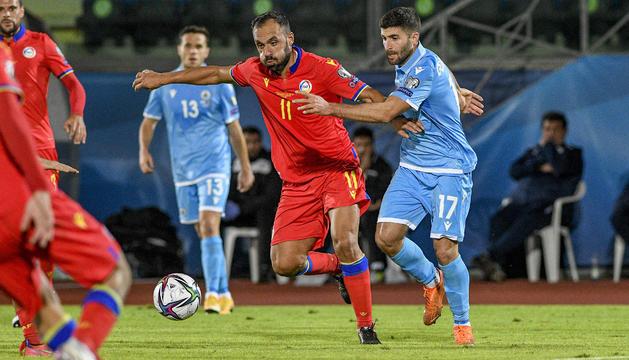Sergio Moreno ha anotat el 0-2 a San Marino.