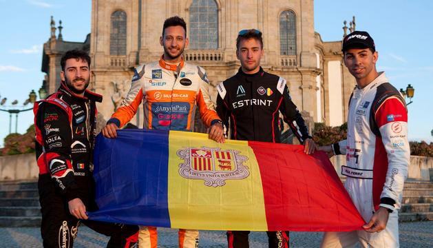 Els pilots participants al FIA Hill Climb Masters.