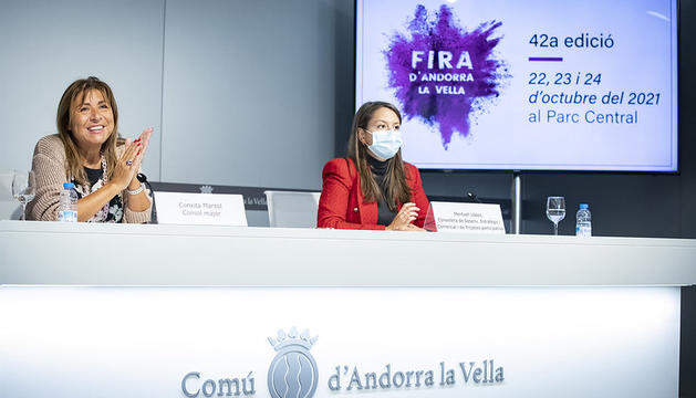 Presentació de la 42a Fira d'Andorra la Vella
