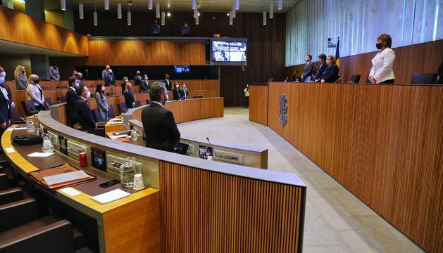 Minut de silenci al Consell per l'exministra Arasanz