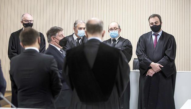 Diversos membres de la judicatura, entre ells Alberca.